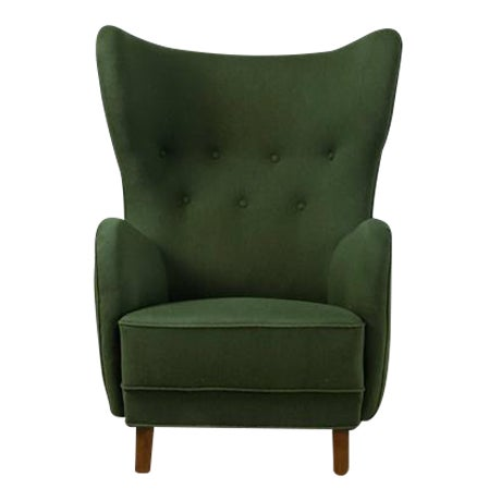 Mogens Lassen Style Lounge Chair, Denmark, 1940s - Image 1 of 10