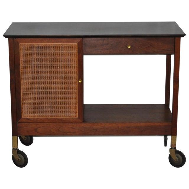 Image of Mid-Century Modern Paul McCobb Bar Cart