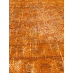 "Image of Yellow Orange Overdyed Turkish Rug - 9'4"" X 12'"