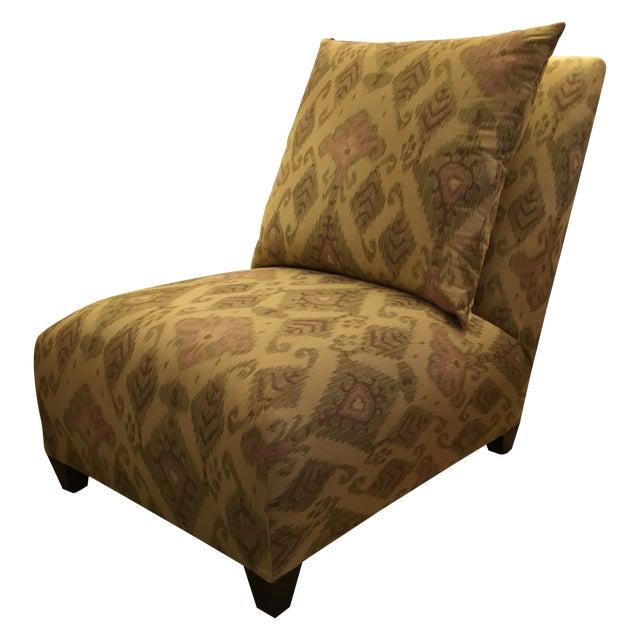 Donghia Villa Custom Ikat Chair - Image 1 of 11