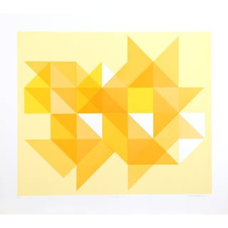 Arnold Hoffman, Jr., Triangle Y, Silkscreen