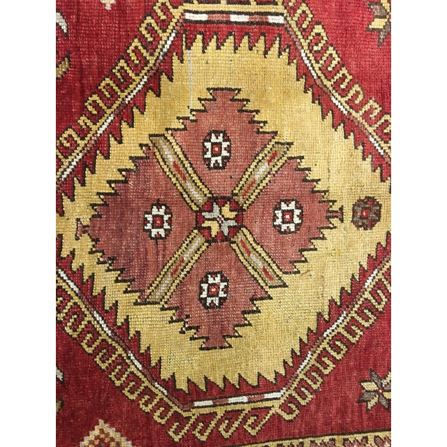 "Bellwether Rugs Vintage Turkish Oushak Runner - 5'x11'3"" - Image 5 of 8"