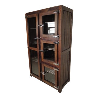 Ice Chest Style Display Cabinet