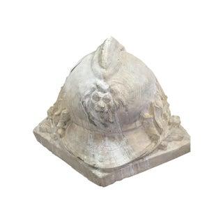 WWI Belgian Army Helmet Monument