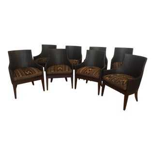 McGuire Dining Chairs - Set of 8