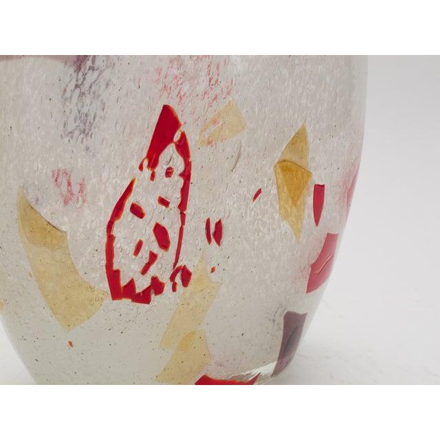 Murano Hand Blown Art Glass Vase - Image 4 of 4