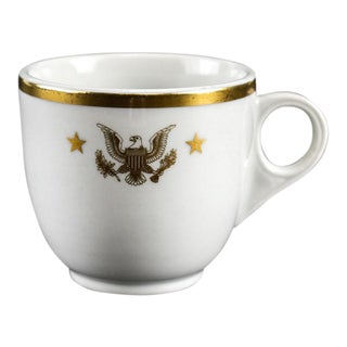 Presidential Shenango China From Yacht Uss Honey Fitz President Seal Jfk Tea Cup