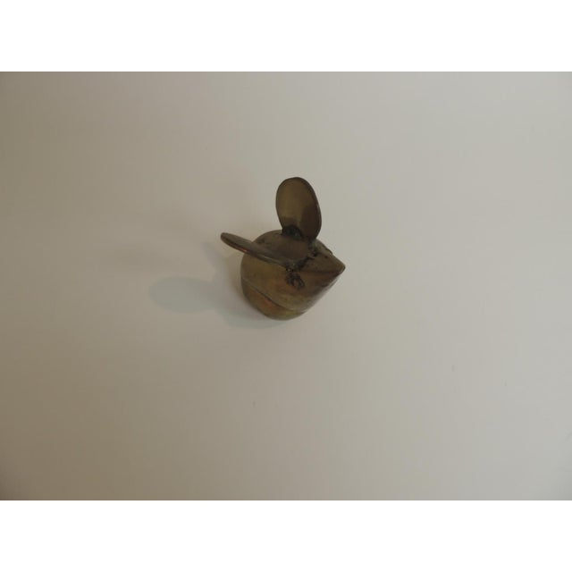Vintage Brass Mouse Paper Weight - Image 3 of 4