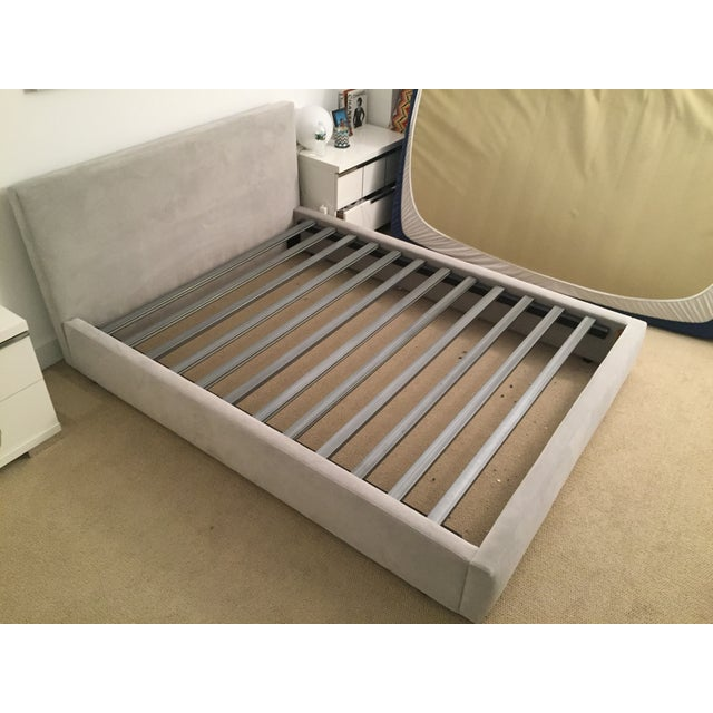image of room and board wyatt bed frame
