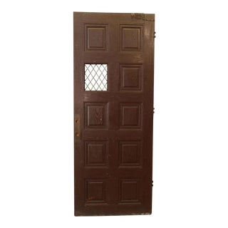 Tudor Style Raised Panel Entry Door