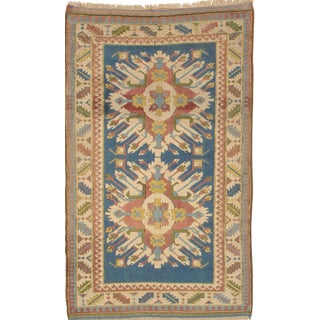 "Pasargad N Y Hand-Knotted Kazak Area Rug - 4'7"" X 7'4"""