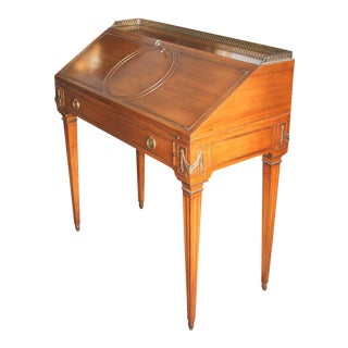 French Neoclassical Style Lady's Writing Desk