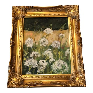 Queen Anne's Lace Oil Painting