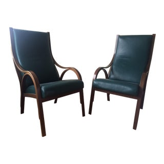 Poltrona Frau Cavour Armchairs - A Pair