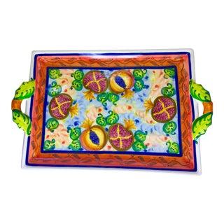 Skyros Designs Hand Painted Platter