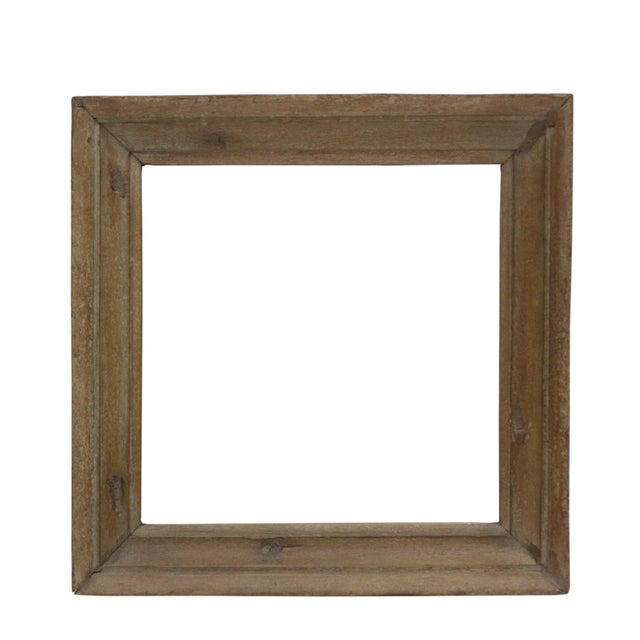 Rustic Style English Country Mirror - Image 1 of 2