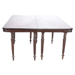 Anglo Indian Demi-Lune Tables - a Pair