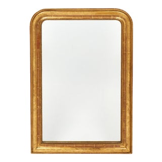 Louis Philippe Period Gold-Leaf Mirror