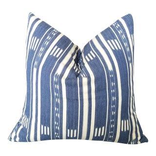 African Baule Ikat Pillow