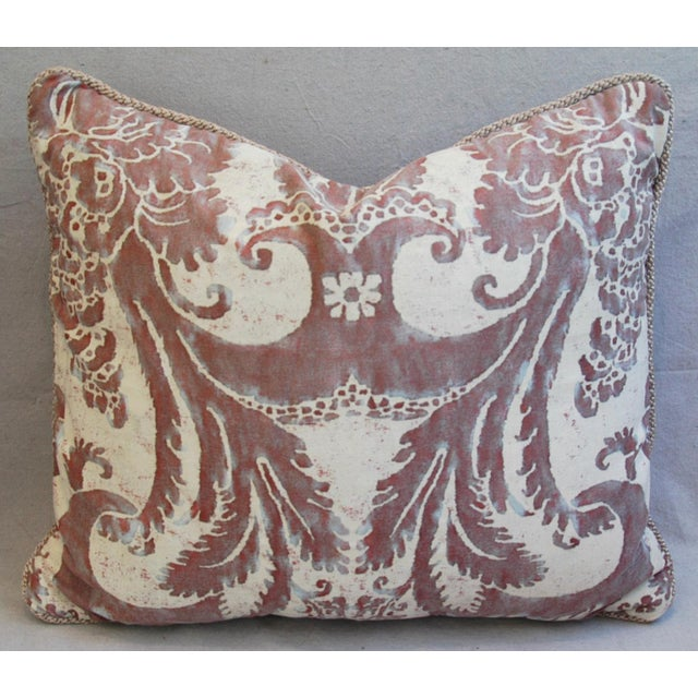 Mariano Fortuny Glicine & Mohair Pillows - A Pair - Image 5 of 10
