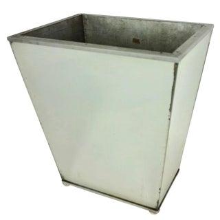 Vintage Mirrored Waste Paper Basket