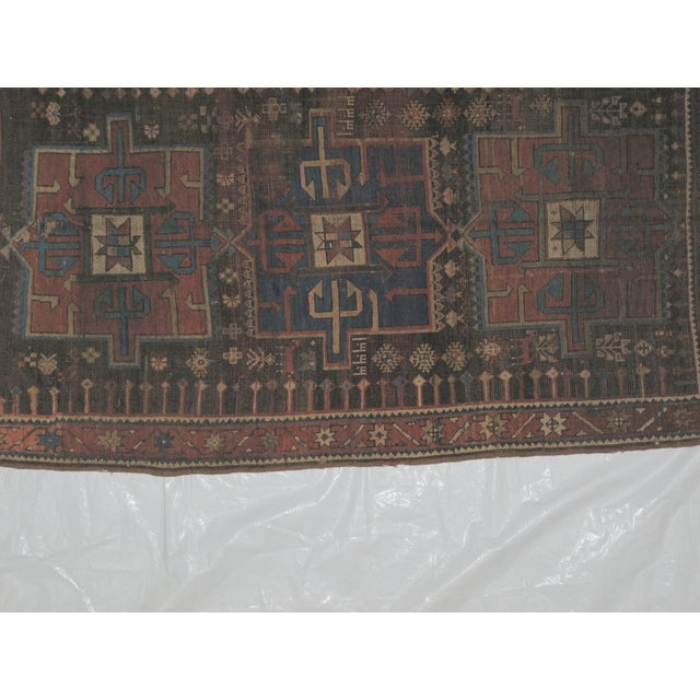 "Image of Leon Banilivi Kazak Brown Wool Rug - 5'6"" X 3'2"""