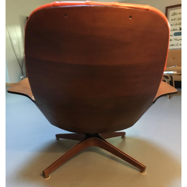 1960's PlyCraft Lounge Chair & Ottoman - Image 5 of 10