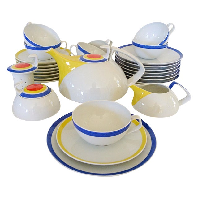 Image of Mid-Century Rosenthal Tea - Set for 8