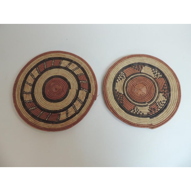 Vintage African Placemats or Wall Accents - A Pair - Image 4 of 4