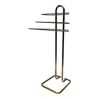 Brass Valet Butler Towel Rack
