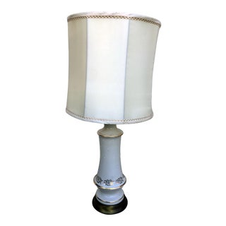 Shabby Chic Porcelain Lamp