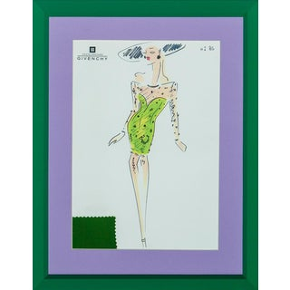 "Givenchy Glam No 86 ""Day at the Races"" Fashion Illustration"
