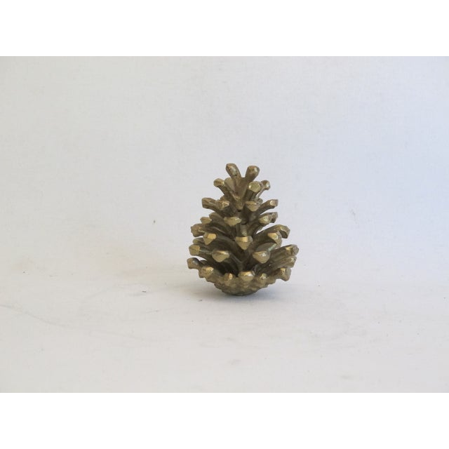 Brass Pinecone - Image 3 of 4