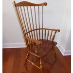 Image of Ethan Allen Windsor High Back Arm Chair