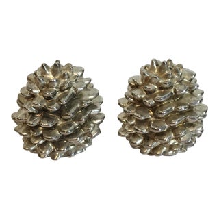 Godinger Silver Art Pinecone Salt & Pepper Shakers - A Pair