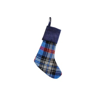 Custom Tailored Scottish Tartan Wool Christmas Stocking