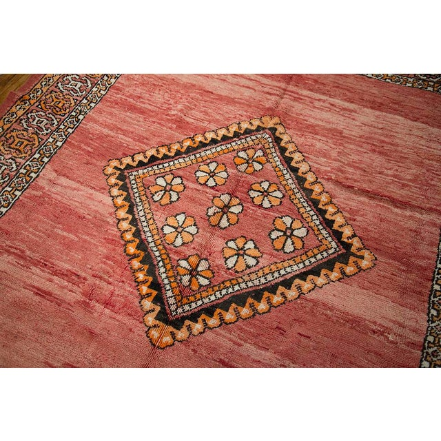 """Red Moroccan Taznakht Rug - 6'7"""" X 8' - Image 4 of 8"""