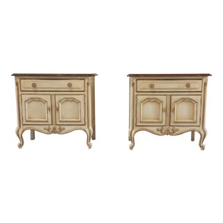 Drexel French Country Nightstands - A Pair