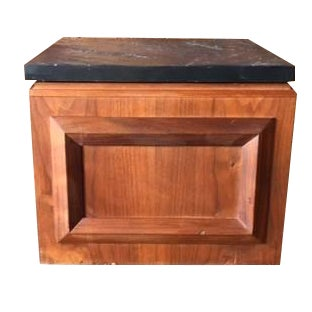 Brown Saltman Mid-Century Walnut Side Table