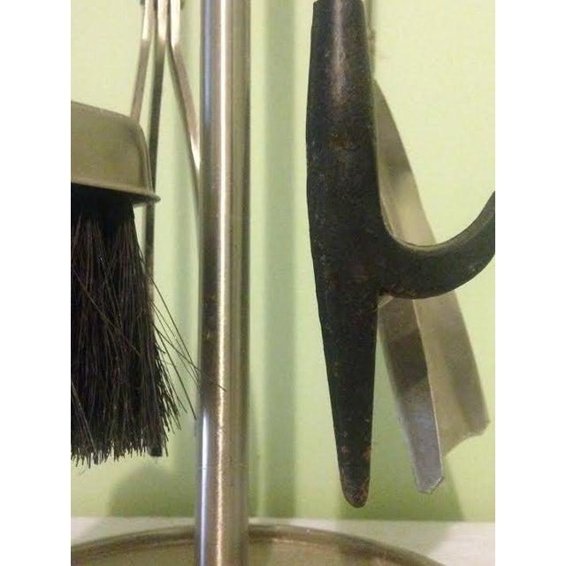 Vintage Modernist Fire Tools - Set of 5 - Image 4 of 5