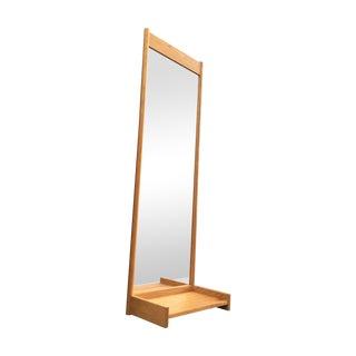 Swedish Solid Oak Mirror Console