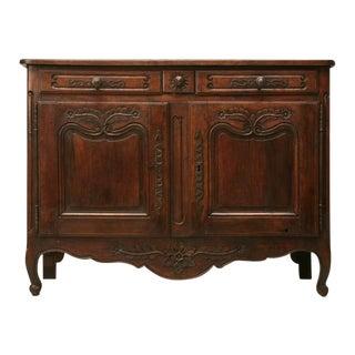 Original 18th C. French Louis XV Fruitwood Buffet