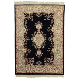 "Hand Knotted Wool Rug - 5'5"" x 7'9"""