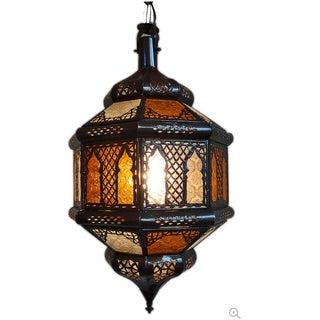 Amber Moroccan Lantern
