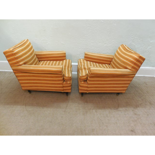 Vintage Mid-Century Modern Lounge Chairs - A Pair - Image 4 of 10