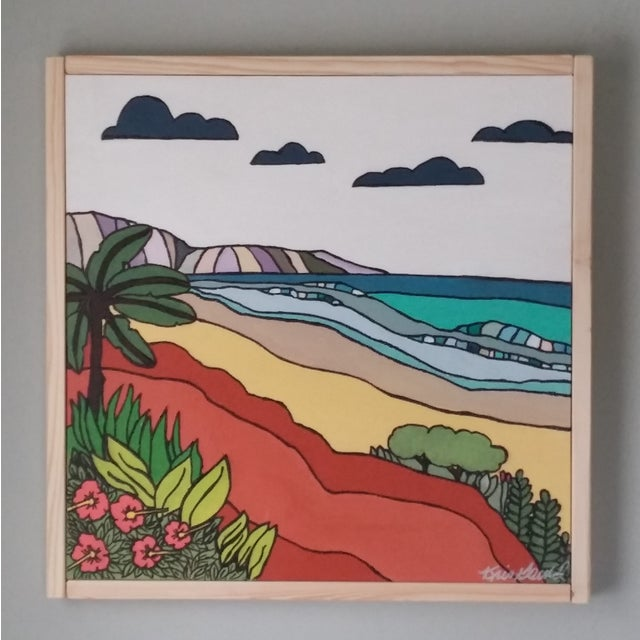 """Sand"" Color Block Art by Kris Gould - Image 3 of 5"