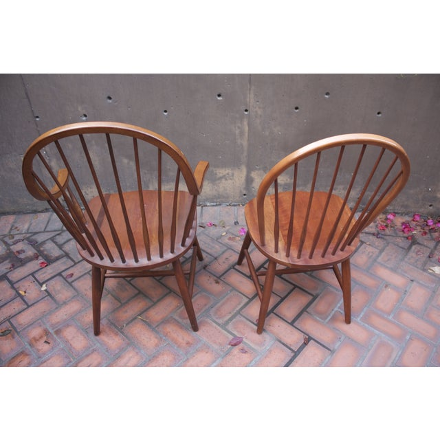 Image of Thos. Moser Style Dining Chairs - Set of 4