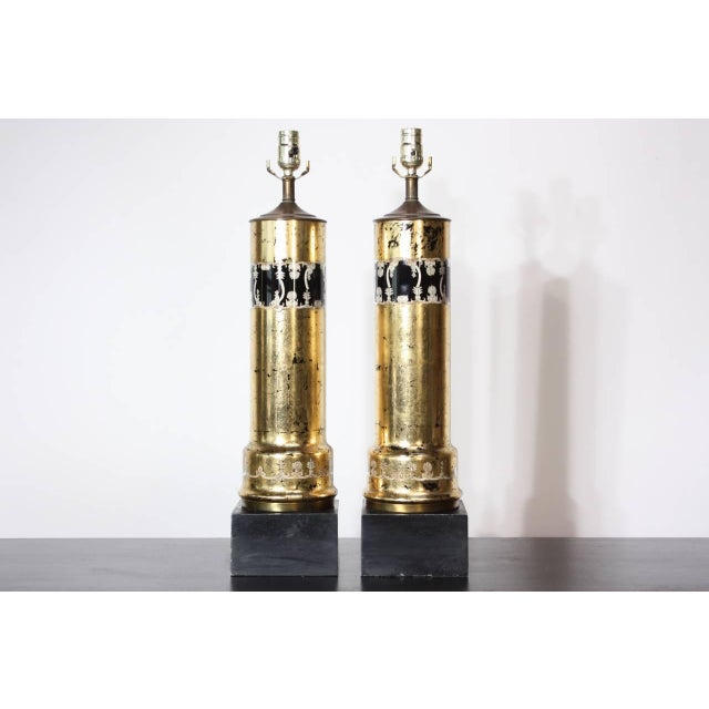 Pair of Piero Fornasetti Table Lamps - Image 3 of 8