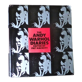 The Andy Warhol Diaries - First Printing