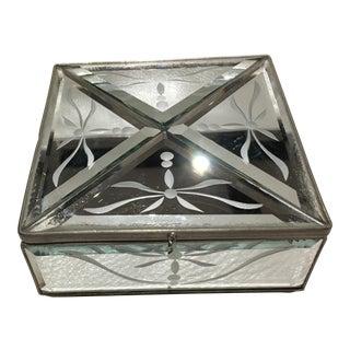 Italian Mirrored Square Box